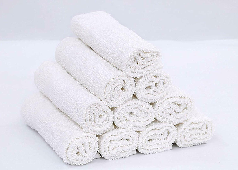 GOLD Wash Kitchen Towels, Hand Towels 100% Cotton