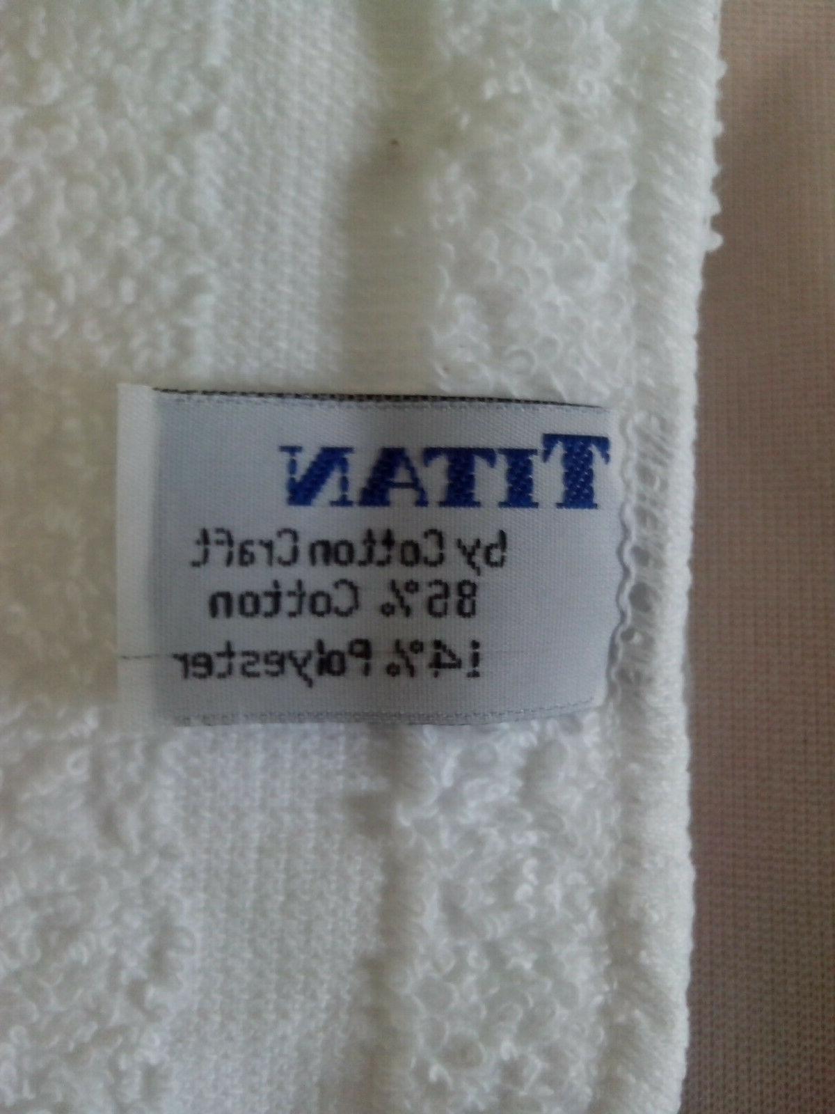 Washcloth White Towel 100% 12x12 Wash Towel