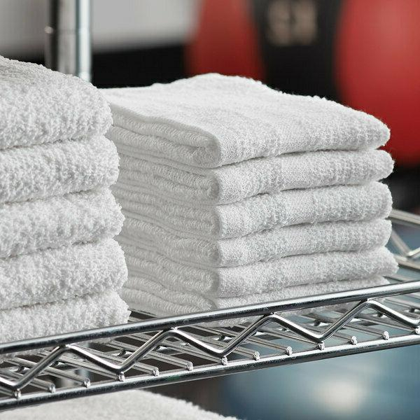 washcloth white towel 24pcs 100 percent cotton