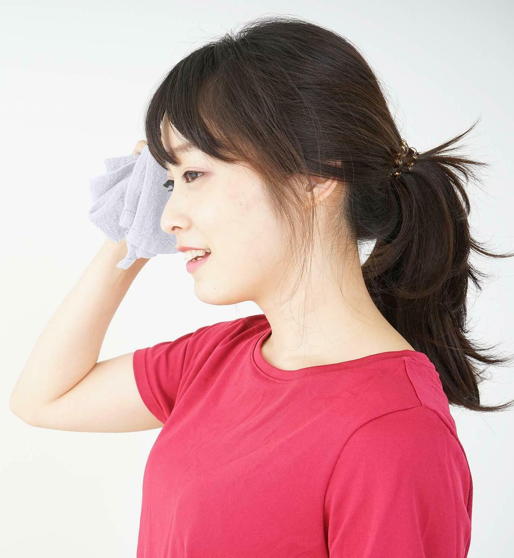 White Washcloth 100% Face 12x12 Wash cloths Towel