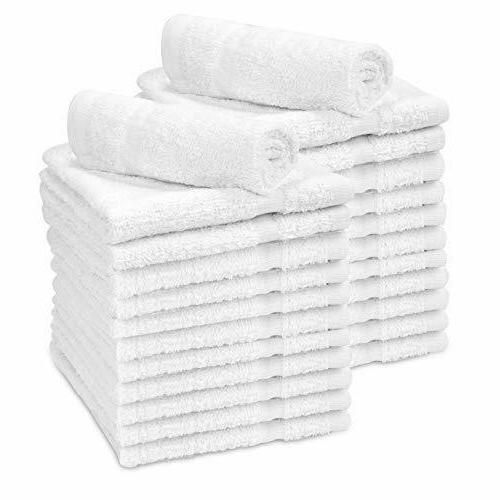 washcloths towel 24pcs 100 percent cotton hotel