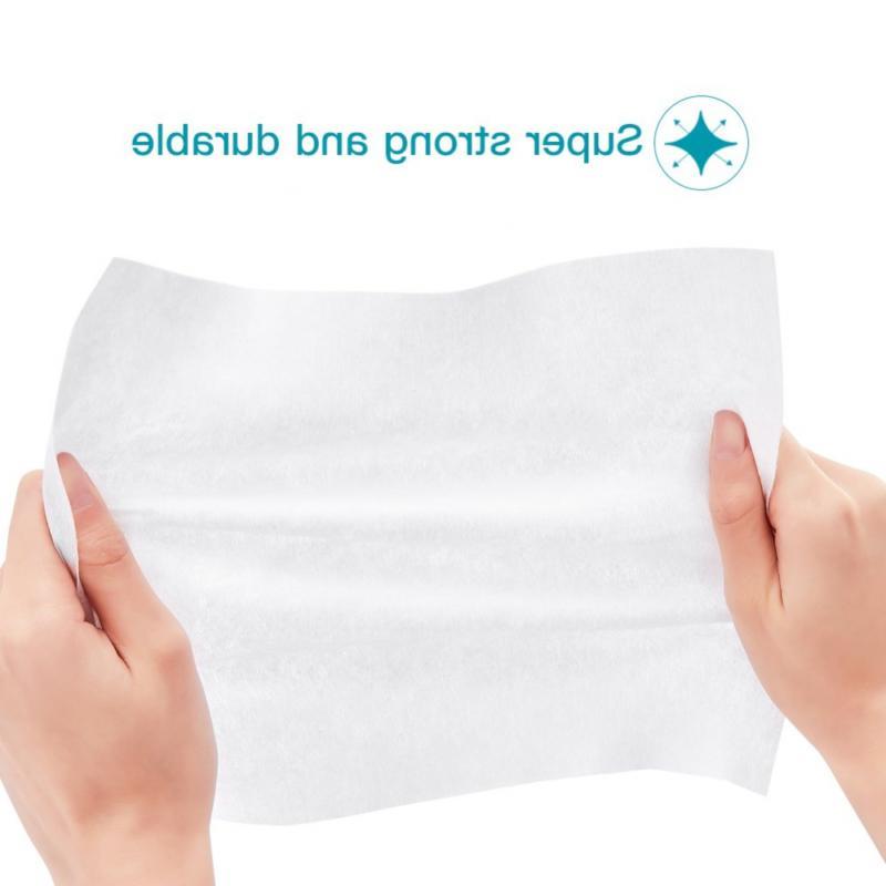 Winner Cotton Tissue, 100% Soft Pads, Disposable Face for Sensitive