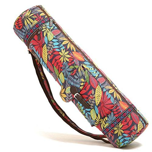 yoga mat bags carriers patterned