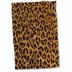 3dRose Lee Hiller Designs RAB Rockabilly - Leopard Print Gol