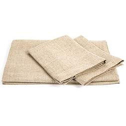 Natural Linen Bath Towels Set Lara