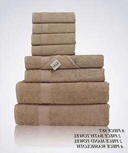Lint Free 8 Piece Bulk Turkish Towel Set Clearance Prime Bat