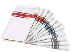 LoomFlair Pure Cotton Kitchen Towels - 12 Pack Dish Cloth  M