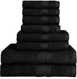 Utopia Towels Luxurious 700 GSM Thick 8 Piece Towel Set in B