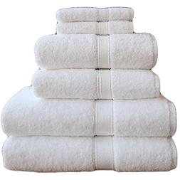 Luxury Cotton Hand Towel - White Made in the USA