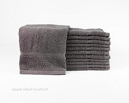Linteum Textile Luxury 100% Cotton HAND TOWELS 16x27 in. 12-