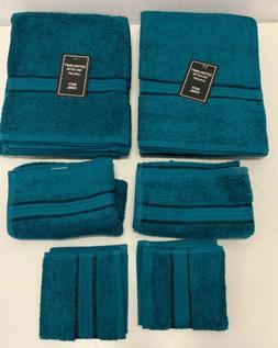 Luxury Cotton Towel Set Washcloth Bath Hand Wash Cloth SET A