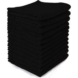 Luxury Hand Face Towel Set Washcloths Woven Cotton Kitchen B