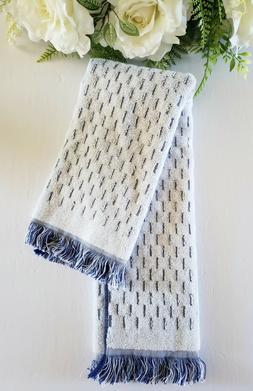"Opalhouse Luxury Hand Towel 27"" x 16"" Small Stripes With Fri"
