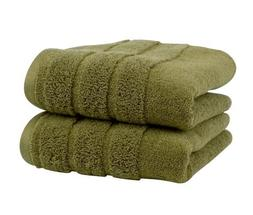 Luxury Hand Towel 2-Pack, Made in the USA with 100% Cotton f