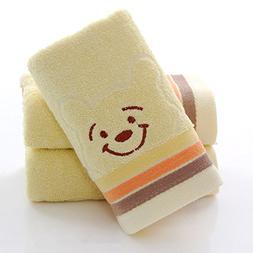 Luxury Hand Towels Cleanbear Face-Cloth Washcloths Set Hotel