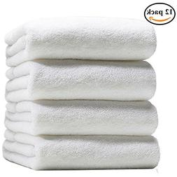 Luxury Hotel & Spa 100% Combed Egyptian Cotton Washcloth Mul