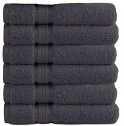 Luxury Hotel Spa Towel 100% Cotton Hand Towels NEW Set of 6