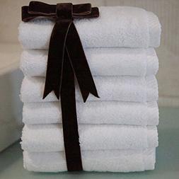 Luxury Hotel & Spa 100% Turkish Cotton Soft Twist Washcloths