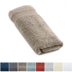 Great Bay Home 100% Turkish Cotton Hand Towel for Bathroom.
