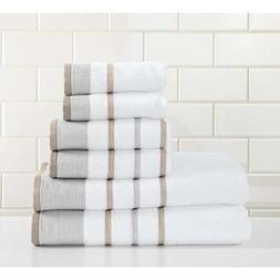 Great Bay Home 6-Piece Luxury Hotel/Spa 100% Turkish Cotton