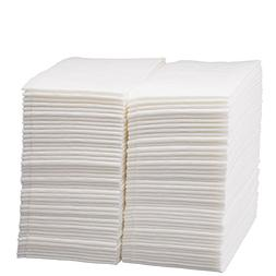 Luxury Linen Feel Disposable Guest Hand Towels in Bulk, Soft