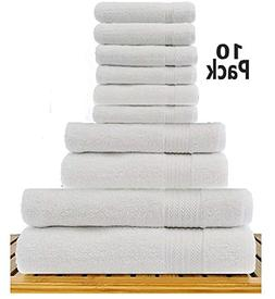 TowelPro Luxury Premium Soft 100% Woven Cotton Highly Absorb
