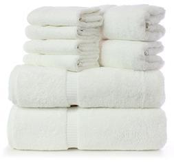 Luxury turkish towel set of 8 ;Premium quality 100% Cotton l