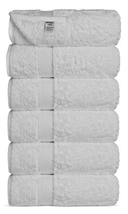 Luxury Ultra Soft Bamboo 6-Piece Hand Towel Set - Soft, Abso