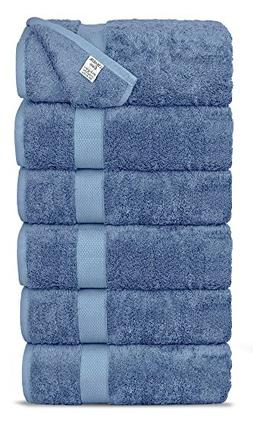 Chakir Turkish Linens Luxury Ultra Soft Bamboo 6-Piece Hand