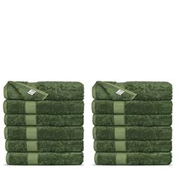 Chakir Turkish Linens Luxury Ultra Soft Bamboo 12-Piece Wash