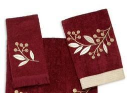 Avanti Linens Madison Hand & Fingertip  Towel ~ Brick ~ Fast