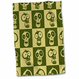 3dRose Mark Grace CARTOON SKULL PATTERNS funny skulls - SKUL