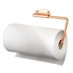 mDesign Versatile Wall Mount Paper Towel Holder & Dispenser,