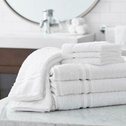 Member's Mark Commercial Hospitality Bath Towels, White, Set