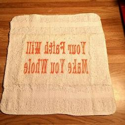 Message Deco Gift Hand Towels- Creative products to Brighten