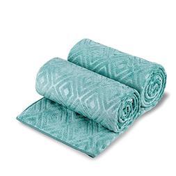Jml Microfiber Bath/Pool Towel Set of 2, Solid Color, Unique