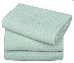 Sinland Microfiber Dish Drying Towels Dish Cloths Waffle Wea