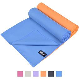 Microfiber Sweat Towels for Gym Yoga Running Hiking Quick Dr