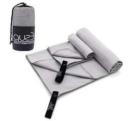 Esup 2 Pack Microfiber Towel Quick Dry Micro Gym Towels  Han