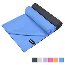Premium Microfiber Towel 2 Pack Sports Hand Towel Set - Face