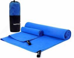 Sportneer Microfiber Travel Sports Towel, XL Ultra Absorbent