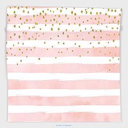Vipsung Microfiber Ultra Soft Hand Towel-Modern Striped Patt