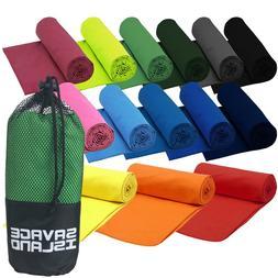 Microfibre Towel Fitness Fast Dry Gym Beach Yoga Sport Trave