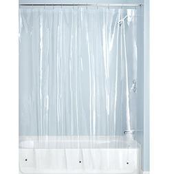 InterDesign Mildew-Free PEVA 3 Guage Shower Liner, Multiple