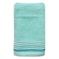 Dena Modern Solid Hand Towel, Aqua