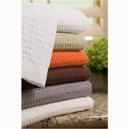 Modern Design Waffle Weave Hand Towel - Slate