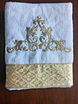Avanti Linens Monaco Hand Towel, 100% Cotton, Ivory