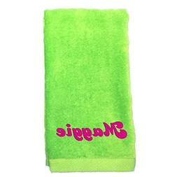 C. Claire Embroidery Monogrammed Personalized Hand Towels