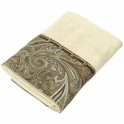 New Avanti Linens Bradford Hand Towel, Linen