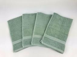 new hand towels lot 4 aqua bundle